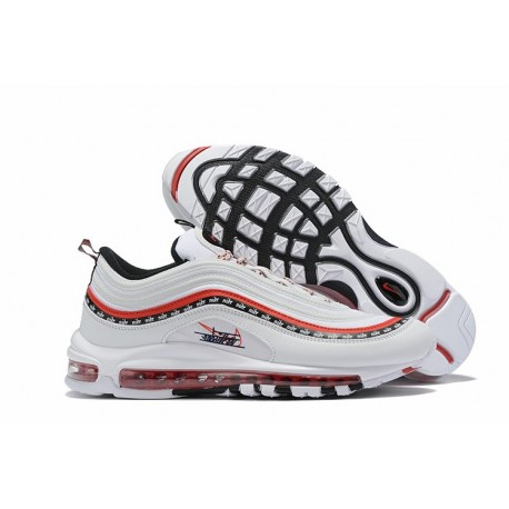 Nike Sneaker Air Max 97 Blanco Rojo