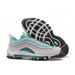 Nike Sneaker Air Max 97 Blanco Azul