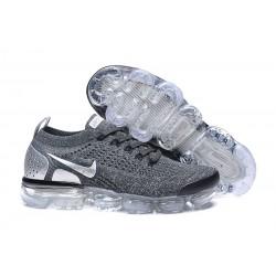 Nuevo Zapatillas Nike Air Vapormax Flyknit 2 Gris Plata