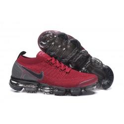 Nuevo Zapatillas Nike Air Vapormax Flyknit 2 Rojo Negro