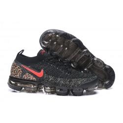 Nuevo Zapatillas Nike Air Vapormax Flyknit 2 Negro Rojo