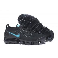 Zapatillas Nike Air Vapormax Flyknit 2 Mujer Negro Azul