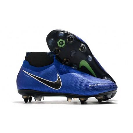 Nike Phantom Vision Elite DF SG-PRO AC Azul Cromo Blanco
