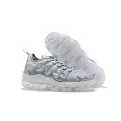 Zapatillas Hombre Nike Air Vapormax Plus Gris Blanco