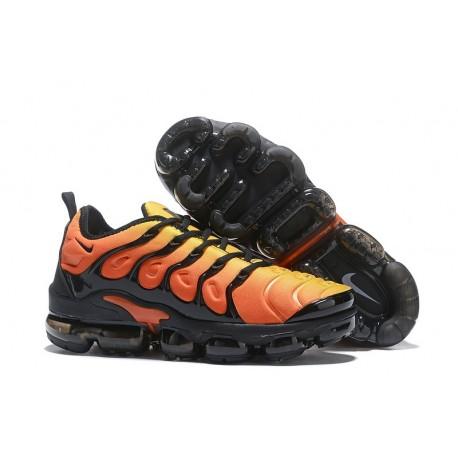 Zapatillas Hombre Nike Air Vapormax Plus Naranja Negro