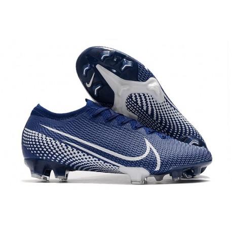 Nike Mercurial Vapor 13 Elite FG ACC Hombre Azul Blanco