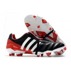 Adidas Predator Mania FG Botas y Zapatillas de Fútbol -Negro Rojo Blanco