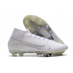 Nike Zapatillas de Futbol Mercurial Superfly VII Elite AG Blanco