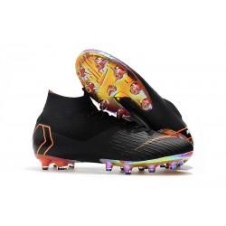 Zapatos de Fútbol Nike Mercurial Superfly 6 Elite AG Negro Naranja