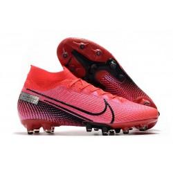 Nike Zapatillas de Futbol Mercurial Superfly VII Elite AG Rojo Negro
