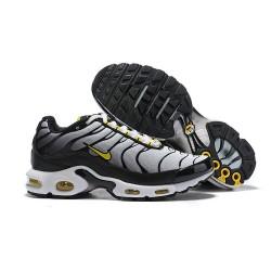 Zapatillas Nike Air Max Plus QS Hombre - Blanco Negro Amarillo