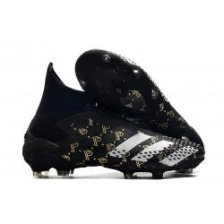 Paul Pogba Bota adidas Predator Mutator 20+ FG Negro Gris