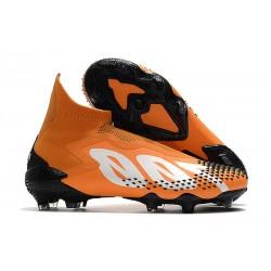 Bota adidas Predator Mutator 20+ FG Naranja Blanco Negro