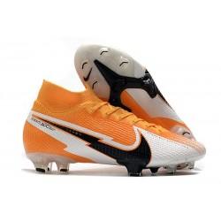 Botas de Fútbol Nike Mercurial Superfly VII Elite FG Láser Naranja Negro Blanco