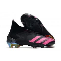 Bota adidas Predator Mutator 20+ FG Negro Rosa