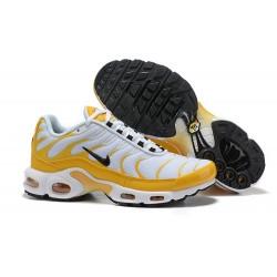 Zapatillas Nike Air Max Plus QS Hombre - Blanco Amarillo