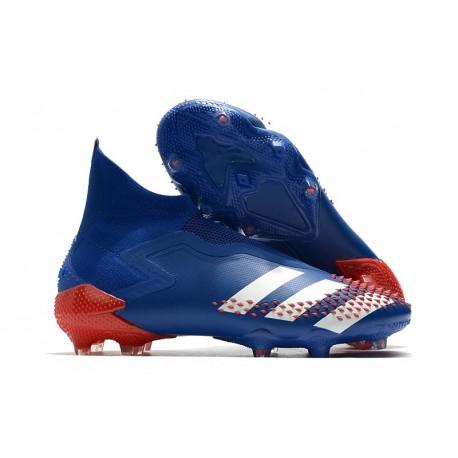 adidas Zapatillas Predator Mutator 20+ FG - Azul Blanco Rojo
