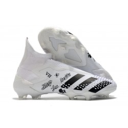 adidas Zapatillas Predator Mutator 20+ FG - Blanco Negro