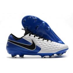 Nike Botas Tiempo Legend 8 Elite FG ACC - Blanco Azul Negro