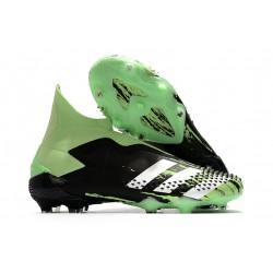 adidas Zapatillas Predator Mutator 20+ FG - Negro Plata Verde