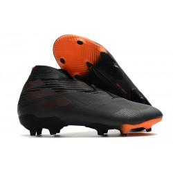 adidas Nemeziz 19+ FG Botas y Zapatillas de Fútbol Negro Naranja Señal