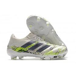 adidas Botas de fútbol Copa 20.1 FG Blanco Negro Verde