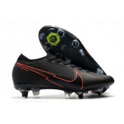 Nike Mercurial Vapor XIII Elite SG-Pro AC Negro Rojo