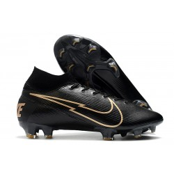 Nike Mercurial Superfly 7 Elite FG ACC Negro Oro