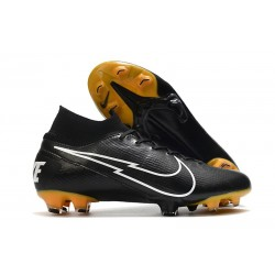 Nike Mercurial Superfly 7 Elite FG ACC Negro Blanco