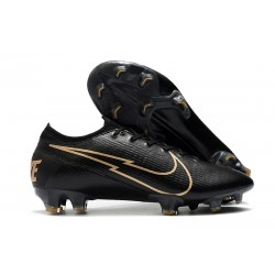 Nike Mercurial Vapor 13 Elite FG ACC Negro Oro