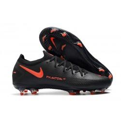 Botas de fútbol Nike Phantom GT Elite FG - Negro Rojo Chile Gris