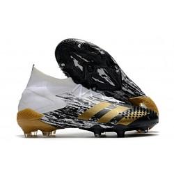 adidas Predator Mutator 20.1 FG Botas Blanco Dorado metalizado Negro