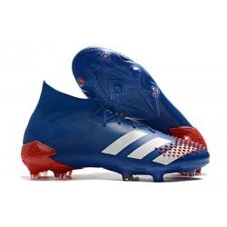 adidas Predator Mutator 20.1 FG Botas y Zapatillas Azul Blanco Rojo