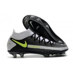 Nike Phantom GT Elite DF FG Fútbol Zapatillas - Negro Gris Verde