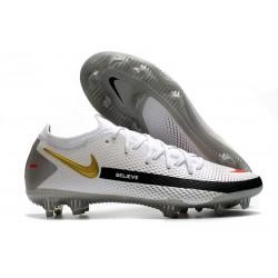 Botas de fútbol Nike Phantom GT Elite FG - Blanco Oro Negro