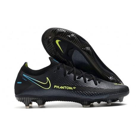 Nike 2021 Zapatillas Phantom GT Elite FG Negro Verde