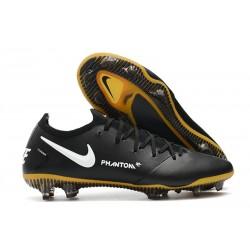 Nike 2021 Zapatillas Phantom GT Elite FG Negro Blanco Oro
