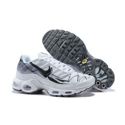 Nike Air Max Plus TN Zapatilla de Deporte Blanco Negro