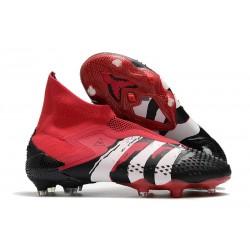 adidas Zapatillas Predator Mutator 20+ FG - Rojo Negro Blanco