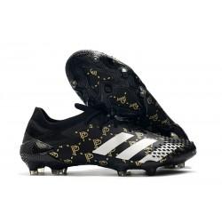 Zapatillas adidas Predator Mutator 20.1 Low FG Paul Pogba Negro Gris