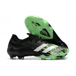 Zapatilla adidas Predator Mutator 20.1 Low FG Verde señal Blanco Negro