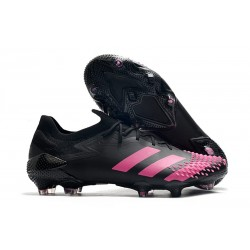 Zapatillas adidas Predator Mutator 20.1 Low FG Negro Rosa