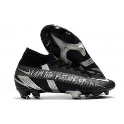 Nike 2021 Mercurial Superfly VII Elite DF FG Future Negro