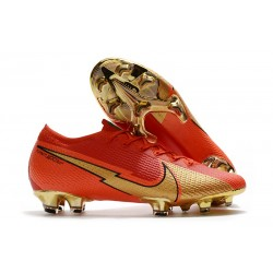 Nike Mercurial Vapor 13 Elite FG ACC CR100 Rojo Oro