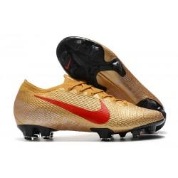 Nike Mercurial Vapor 13 Elite FG ACC Oro Rojo