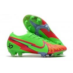 Nike Mercurial Vapor 13 Elite FG ACC Faith Verde Rojo