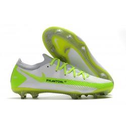 Nike 2021 Zapatillas Phantom GT Elite FG Blanco Verde