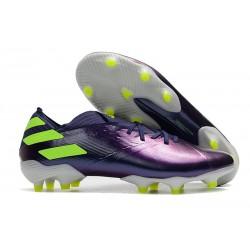 Botas de Futbol adidas Nemeziz 19.1 FG - Violeta Verde