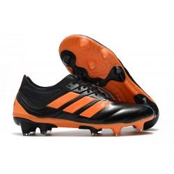 adidas Zapatillas de Fútbol Copa 19.1 FG - Negro Naranja