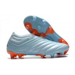 Botas de fútbol ADIDAS Copa 20+ FG Cielo Tinta Azul Royal Signal Coral